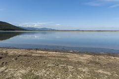 Shore at Rabisha  lake near by Magura cave Stock Photo