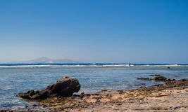 Shore of the Red Sea Royalty Free Stock Image