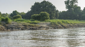 Shore of  river Royalty Free Stock Photography
