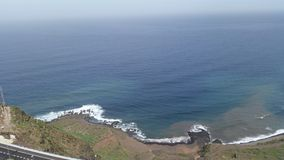 Shore. That's a view of the shore in the northern of Gran Canaria Royalty Free Stock Photos