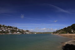 On the shore at Salcombe Royalty Free Stock Image