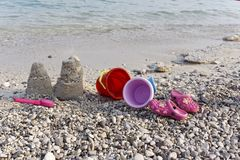 Shore, Sand, Sea, Beach royalty free stock images