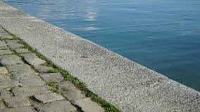 Shore, Sea, Water, Road Surface royalty free stock photos