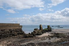 Shore at Seafield Royalty Free Stock Photos