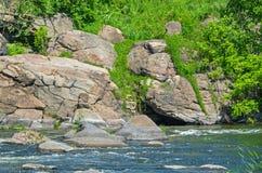 Shore stones Stock Images