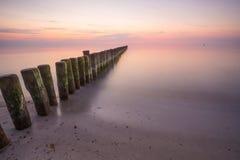 Shore, Sunrise, Horizon, Sea Royalty Free Stock Photography