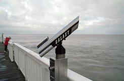 Shore telescope Stock Photo