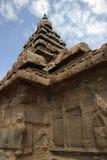Shore Temple. The Shore Temple, Mamallapuram (Mahabalipuram), Bay of Bengal, India Stock Images