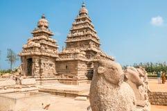 Shore Temple. Complex in Mamallapuram Royalty Free Stock Photos