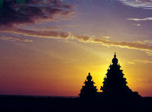 Shore Temple Mahabalipuram Tamilnadu India Stock Image