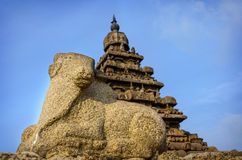 Shore temple in Mamallapuram Stock Photos