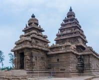 Shore temple in Mamallapuram,  India. Shore temple in Mamallapuram, Tamil Nadu, India Stock Photos