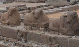 Shore temple in Mamallapuram, Tamil Nadu. India. Shore temple in Mamallapuram, Tamil Nadu, India Stock Image