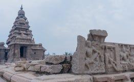 Shore temple in Mamallapuram, Tamil Nadu, India. Shore temple in Mamallapuram, Tamil Nadu. India Stock Images