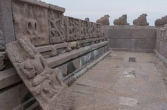 Shore temple in Mamallapuram,India. Shore temple in Mamallapuram, Tamil Nadu, India Royalty Free Stock Images