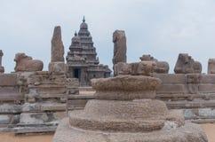 Shore temple in Mamallapuram,India. Shore temple in Mamallapuram, Tamil Nadu, India Stock Images