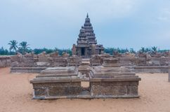Shore temple in Mamallapuram,India. Shore temple in Mamallapuram, Tamil Nadu, India Stock Photos