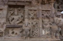 Shore temple in Mamallapuram, Tamil Nadu. India. Shore temple in Mamallapuram, Tamil Nadu, India Stock Photos