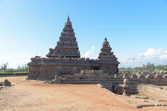 Shore temple in Mamallapuram, Tamil Nadu, India Stock Photos