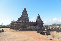 Shore temple in Mamallapuram, Tamil Nadu, India Stock Photos