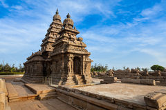 Shore temple - World  heritage site in Royalty Free Stock Photography