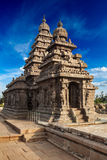 Shore temple - World heritage site in Mahabalipuram, Tamil Nad Royalty Free Stock Images