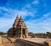 Shore temple - World  heritage site in  Mahabalipuram, Tamil Nad Royalty Free Stock Photos