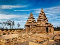 Shore temple - World heritage site in Mahabalipuram, Tamil Nad Stock Image