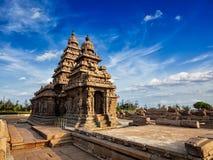 Shore temple - World heritage site in Mahabalipuram, Tamil Nad Stock Photos