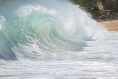 shorebreak Royaltyfria Bilder