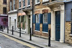 Shoreditch. London Borough of Hackney. UK architecture Royalty Free Stock Photo