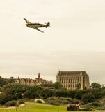 Shoreham Airshow 2014 - desfile de aviones de Messerschmitt Imágenes de archivo libres de regalías