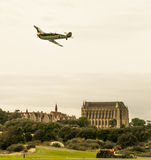 Shoreham Airshow 2014年- Messerschmitt空中分列式 免版税库存图片