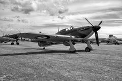 SHOREHAM-DOOR-OVERZEES, HET WESTEN SUSSEX/UK - 30 AUGUSTUS: Venter Hurricane I Royalty-vrije Stock Afbeelding