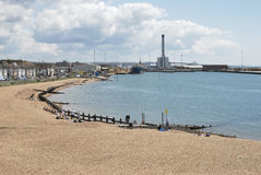 Shoreham Harbour. West Sussex. UK Stock Images