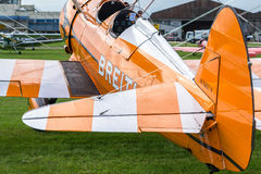 SHOREHAM-BY-SEA, SUSSEX/UK OCCIDENTAL - 30 AOÛT : Breitling Wingwalk Images stock