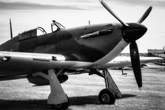 SHOREHAM-BY-SEA, SUSSEX/UK OCCIDENTAL - 30 AOÛT : Colporteur Hurricane I Image stock