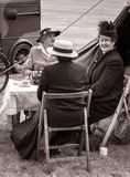SHOREHAM-BY-SEA, WEST SUSSEX/UK - AUGUST 30 : Afternoon tea at stock image