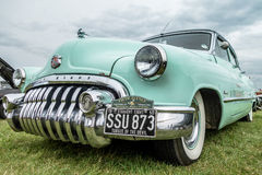SHOREHAM-BY-SEA, WEST SUSSEX/UK - AUGUST 30 : Old Buick Eight pa Royalty Free Stock Photography