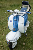 SHOREHAM-BY-SEA, WEST SUSSEX/UK - AUGUST 30 : Old Lambretta Scoo Royalty Free Stock Photo