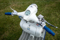 SHOREHAM-BY-SEA, WEST SUSSEX/UK - AUGUST 30 : Old Lambretta Scoo Royalty Free Stock Photography