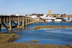 SHOREHAM-BY-SEA, ZACHODNI SUSSEX/UK - LUTY 1: Widok Shoreham- zdjęcia royalty free