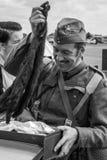 SHOREHAM-BY-SEA, ZACHODNI SUSSEX/UK - SIERPIEŃ 30: Jeden tata wojsko Zdjęcia Stock