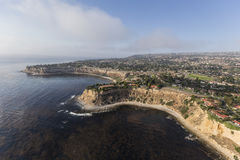 Shoreline Aerial of Rancho Palos Verdes in California Stock Photography