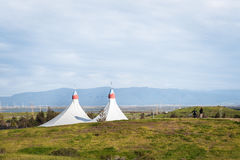 Shoreline Amphitheatre in Mountain View Royalty Free Stock Photos