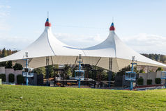 Shoreline Amphitheatre in Mountain View Royalty Free Stock Photography