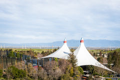 Shoreline Amphitheatre in Mountain View Stock Photography