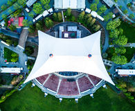 Shoreline Amphitheatre seen from the above Royalty Free Stock Image