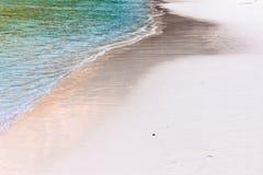Shoreline on the beach Stock Photography