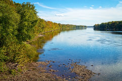 Shoreline Delaware River Royalty Free Stock Image